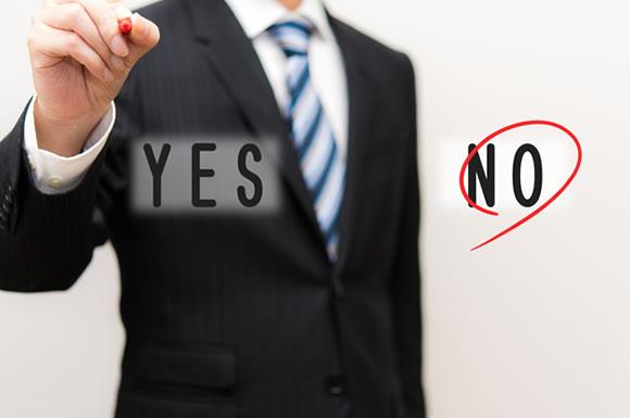 転職の答え YES or NO