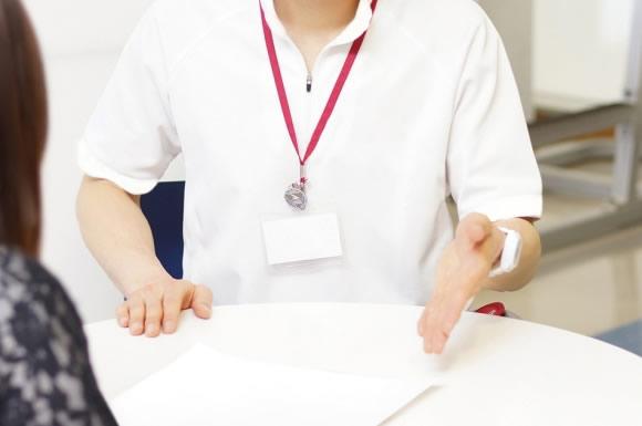 後輩介護士の指導